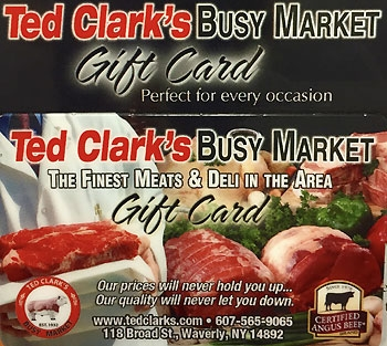Ted Clark's Busy Market Waverly, NY 14892    Corporate Gifts